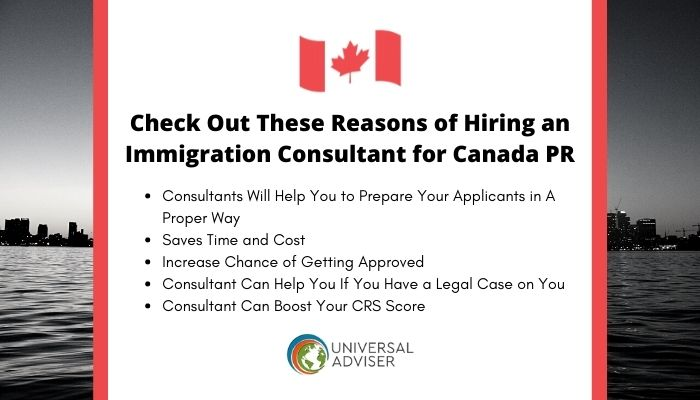 Check Out These Reasons of Hiring an Immigration Consultant for Canada PR
